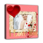 love - Mini Canvas 8  x 8  (Stretched)