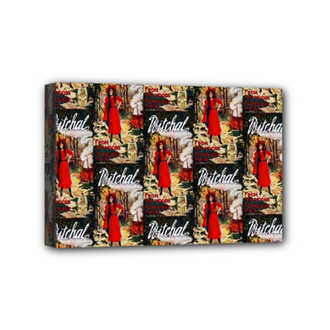1912 Witchal Witch Mini Canvas 6  x 4  (Framed) by EndlessVintage