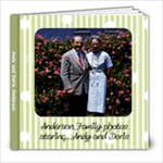 Andy and Doris Anderson - 8x8 Photo Book (20 pages)