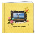 8x8 (DELUXE): Days of Summer - 8x8 Deluxe Photo Book (20 pages)
