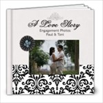 8x8 (20 pages) B/W Simple Engagement/Wedding - 8x8 Photo Book (20 pages)