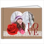 love - 7x5 Photo Book (20 pages)
