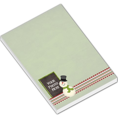Joyful Joyful Lg Memo 2 By Lisa Minor   Large Memo Pads   3unxzquljl0j   Www Artscow Com