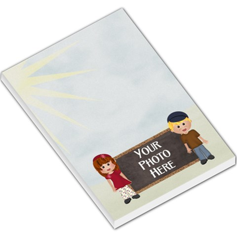 At The Park Lg Memo 3 By Lisa Minor   Large Memo Pads   Q9o3ehnncbxq   Www Artscow Com