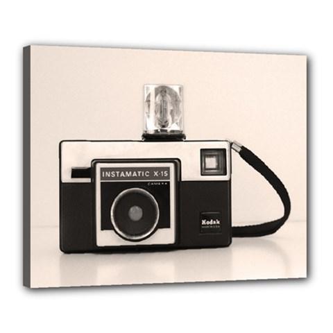 Kodak (3)s Canvas 20  x 16  (Framed)