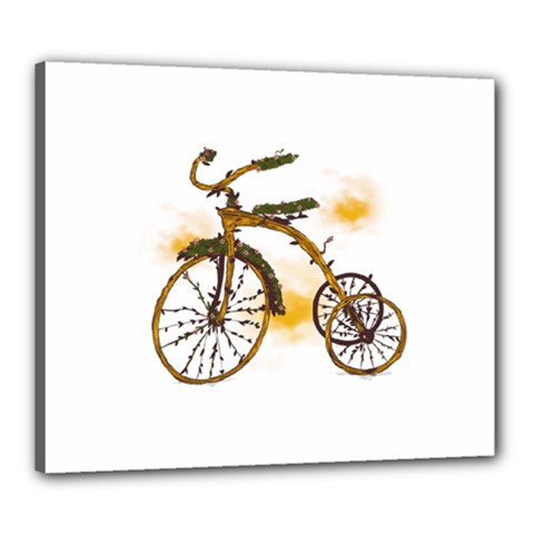 Tree Cycle Canvas 24  X 20  (framed) by Contest1753604