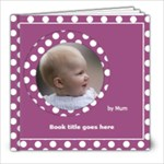Pink and lilac Picture book 8x8 (39 pages) - 8x8 Photo Book (20 pages)