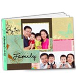 a family of 4 - 9x7 Deluxe Photo Book (20 pages)
