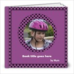 Pink and lilac Picture Book 2 8x8  (20 pages) - 8x8 Photo Book (20 pages)
