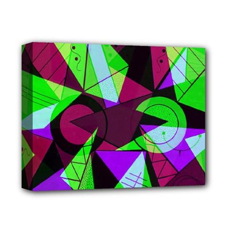 Modern Art Deluxe Canvas 14  X 11  (framed) by Siebenhuehner