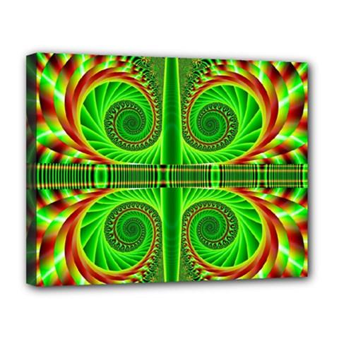 Design Canvas 14  X 11  (framed) by Siebenhuehner