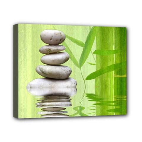 Balance Canvas 10  X 8  (framed) by Siebenhuehner