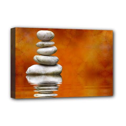 Balance Deluxe Canvas 18  X 12  (framed) by Siebenhuehner