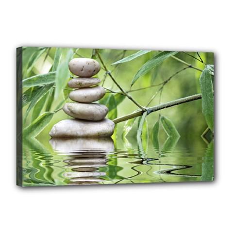 Balance Canvas 18  X 12  (framed) by Siebenhuehner