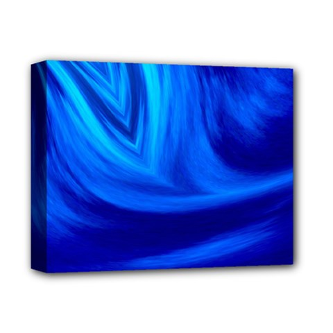 Wave Deluxe Canvas 14  X 11  (framed) by Siebenhuehner