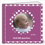 Pink and lilac Picture book 12x12  (40 pages) - 12x12 Photo Book (20 pages)