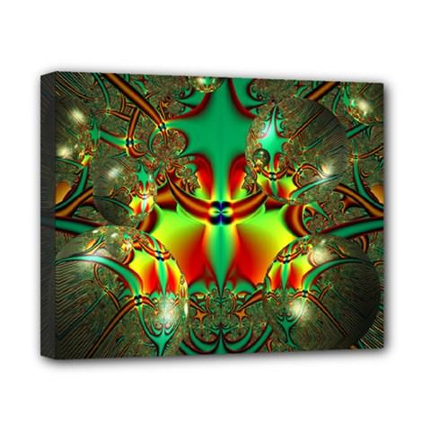 Magic Balls Canvas 10  X 8  (framed)