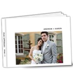 Wedding - Part I - 9x7 Deluxe Photo Book (20 pages)