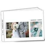 Wedding - Part II - 9x7 Deluxe Photo Book (20 pages)