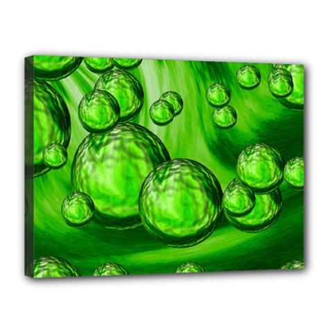 Magic Balls Canvas 16  X 12  (framed) by Siebenhuehner