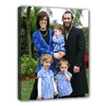 11x14 Fam pic fl vertical - Canvas 14  x 11  (Stretched)