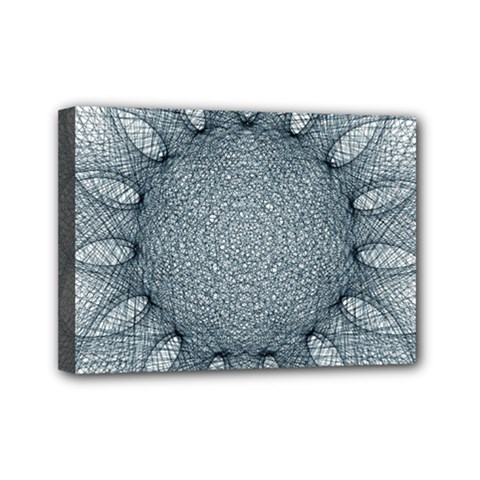 Mandala Mini Canvas 7  X 5  (framed) by Siebenhuehner