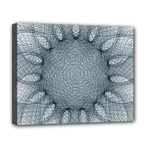 Mandala Deluxe Canvas 20  X 16  (framed) by Siebenhuehner
