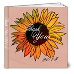 Thank You - 8x8 Photo Book (20 pages)