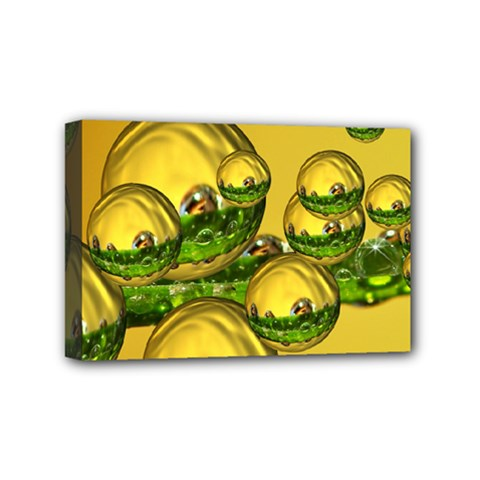 Balls Mini Canvas 6  X 4  (framed) by Siebenhuehner
