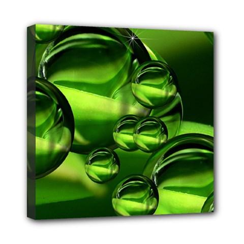 Balls Mini Canvas 8  X 8  (framed) by Siebenhuehner
