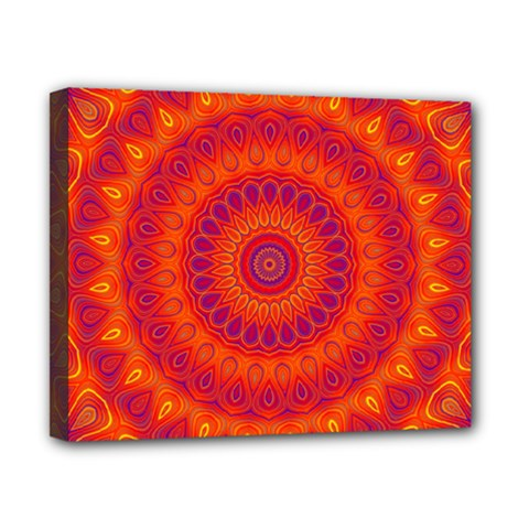 Mandala Canvas 10  X 8  (framed) by Siebenhuehner