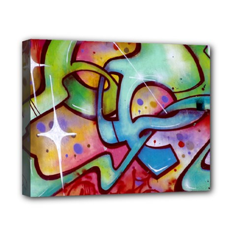 Graffity Canvas 10  X 8  (framed) by Siebenhuehner