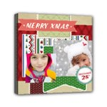 merry christmas - Mini Canvas 6  x 6  (Stretched)