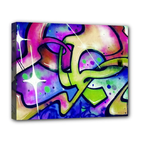 Graffity Deluxe Canvas 20  X 16  (framed) by Siebenhuehner