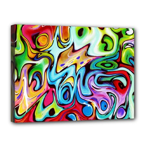 Graffity Canvas 16  X 12  (framed) by Siebenhuehner