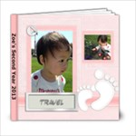 Zoe s Second Year - Travel - 6x6 Photo Book (20 pages)