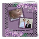 My lilac Picture Deluxe book 8x8  (32 pages) - 8x8 Deluxe Photo Book (20 pages)