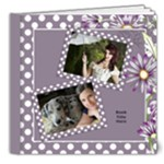 Our lilac Picture Deluxe book 8x8  (20 pages) - 8x8 Deluxe Photo Book (20 pages)