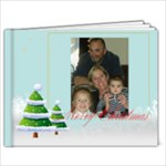 Merry Xmas Ama and Papa - 9x7 Photo Book (20 pages)