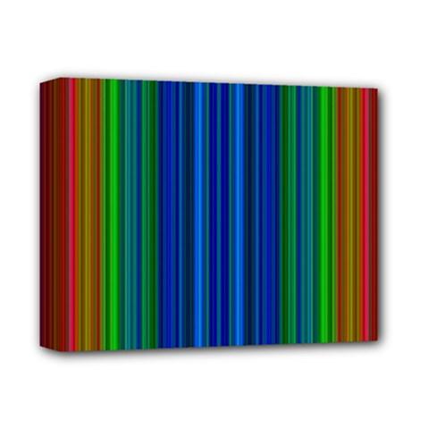 Strips Deluxe Canvas 14  X 11  (framed) by Siebenhuehner