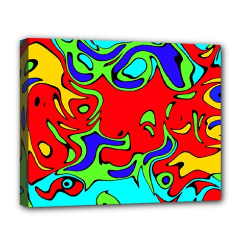 Abstract Deluxe Canvas 20  X 16  (framed) by Siebenhuehner
