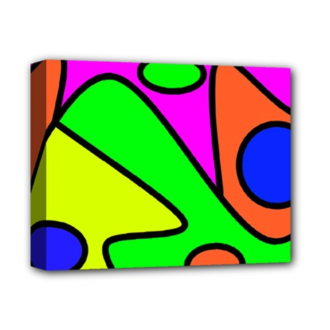 Abstract Deluxe Canvas 14  X 11  (framed) by Siebenhuehner
