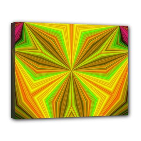Abstract Canvas 14  X 11  (framed) by Siebenhuehner