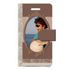 Apple iPhone 5 Leather Folio Case Closed