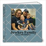 Jewkes Family 2014 - 8x8 Photo Book (20 pages)