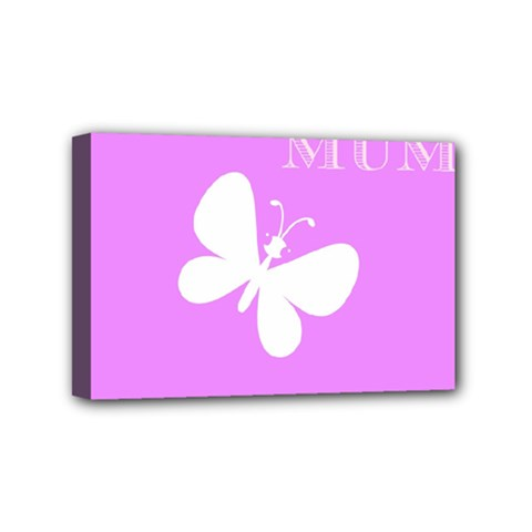 Mom Mini Canvas 6  X 4  (framed) by Colorfulart23