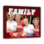 family - Deluxe Canvas 24  x 20  (Stretched)