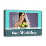 wedding - Deluxe Canvas 18  x 12  (Stretched)