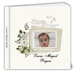 Lucas Baptism- work in progress - 8x8 Deluxe Photo Book (20 pages)
