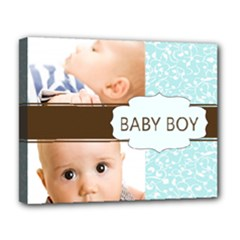 baby - Deluxe Canvas 20  x 16  (Stretched)